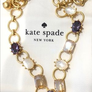 Kate Spade Blooming Bling Gold Chain Necklace